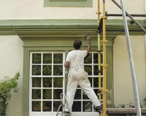 Decorating Access Scaffolding